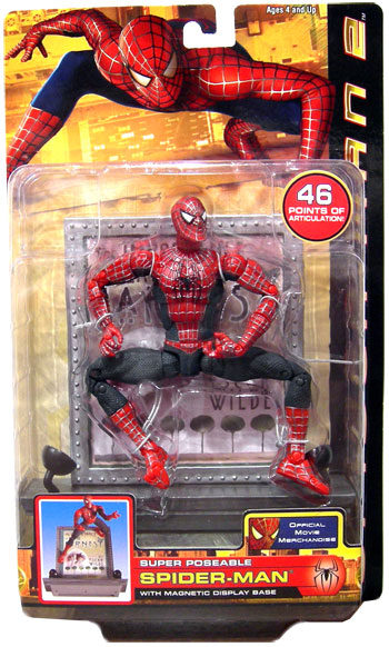 18 Inch Spider Man 2 Toy : Ultra super poseable spider man action figure